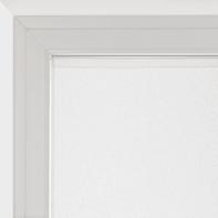 Tendina vetro Dalia bianco tunnel 90 x 160 cm