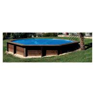 Copertura per piscina invernale GRE in polietilene 298 x 498 cm