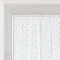 Tendina vetro Elsa bianco tunnel 100 x 150 cm