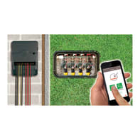 Programmatore elettrovalvole ad alimentazione elettrica JARDIBRIC WF-IS6 6 vie