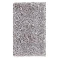 Tappeto Shaggy Enzo lurex argento 160x230 cm