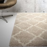 Tappeto Boston , beige, 60x110 cm