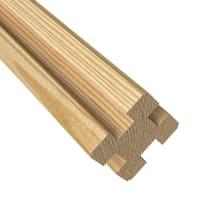 Palo in legno multifunzione Classic L 7 x P 7 x x H 200 cm