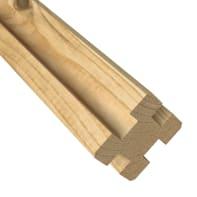 Palo in legno multifunzione Eagle L 7 x P 7 x x H 125 cm