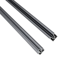 Profilo 2 pezzi Kyoto in alluminio H 200  grigio
