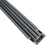Profilo COMPOSITE PREMIUM Premium in alluminio H 150 x L 3 grigio scuro