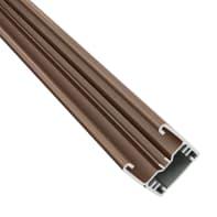 Profilo COMPOSITE PREMIUM Premium in alluminio H 150 x L 3 marrone