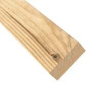 Profilo di chiusura eagle in legno H 3  x L 135 cm