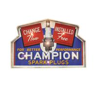 Scritta Champion 56x37.5 cm