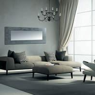 Specchio a parete rettangolare Osakan argento 70x180 cm