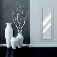Specchio a parete rettangolare Prince argento 60x160 cm