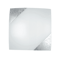 Plafoniera Paris bianco, in metallo, 40x40 cm, E27 3xMAX60W IP20