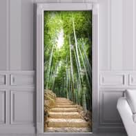 Sticker Bamboo forest 9x96 cm