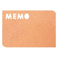 Bacheca in sughero memo marrone 41.2x28.4 cm