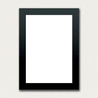 Cornice Combo frame per 1 fotografie 21 x 29,7 cm nero