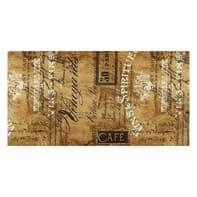 Passatoia Digit Postcard , ecru, 52x52 cm