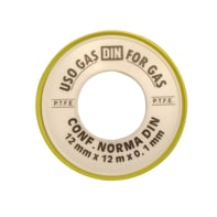 Nastro teflon Plastica alta densità (PTFE) 0.012 x 12 x Sp 0.1 mm