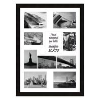 Cornice Maussane per 10 fotografie 13 x 18 nero