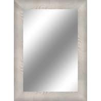 Specchio a parete rettangolare Toora bianco 68x88 cm