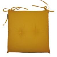 Cuscino per sedia Antimacchia giallo 40x40 cm