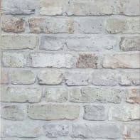 Carta da parati Mattone grigio, 53 cm x 10 m
