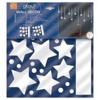 Sticker Stelle appese 31.5x34 cm