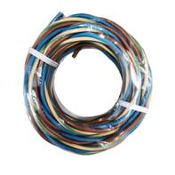 Cavo elettrico h07v-k 3 fili x 1 mm² Matassa 25 m marrone - blu - giallo/verde