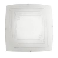 Plafoniera Concept bianco, in acciaio, 40x40 cm, E27 3xMAX60W IP20