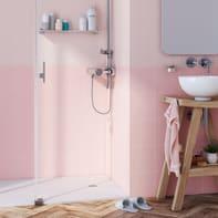 Piastrella per rivestimenti Astuce 20 x 20 cm sp. 6.5 mm rosa