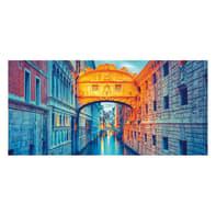Pannello decorativo Ponte dei Sospiri 210x100 cm