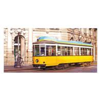 Pannello decorativo Milano tram 210x100 cm