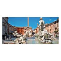 Pannello decorativo Piazza Navona 210x100 cm