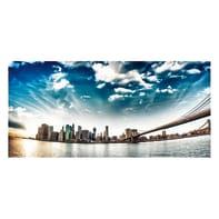 Pannello decorativo Skyline 210x100 cm