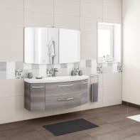 Mobile bagno Cassca grigio L 121 cm