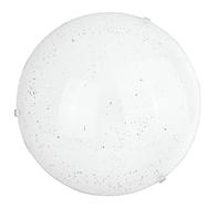 Plafoniera classico Scinty LED integrato bianco, in vetro,  D. 40 cm