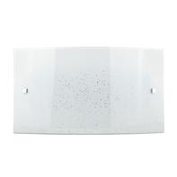 Plafoniera classico Scinty LED integrato bianco, in vetro, 20x32 cm,