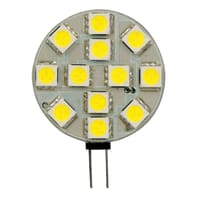 Lampadina LED G4 circolare bianco freddo 2W = 220LM (equiv 20W) 120°