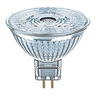 Lampadina LED, GU5.3, Faretto, Trasparente, Luce calda, 3W=230LM (equiv 20 W), 360° , OSRAM