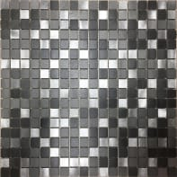 Mosaico Urban Life H 30 x L 30 cm grigio/argento