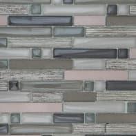 Mosaico Bronze H 30 x L 31 cm grigio e beige