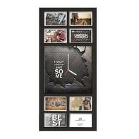Cornice Multiframe time per 8 fotografie 10 x 15 cm nero