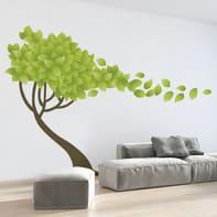 Sticker Tree wind 100x280 cm