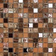 Mosaico Kawii Persia H 30 x L 30 cm marrone e beige