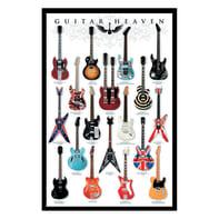 Poster Guitar heaven 61x91.5 cm