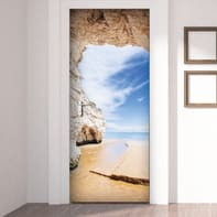Sticker Beach cave 9x96 cm