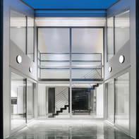 Plafoniera Selene LED integrato in alluminio, bianco, 25W 2300LM IP54 VIVIDA