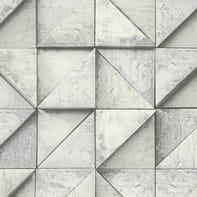 Carta da parati 3D muro grigio