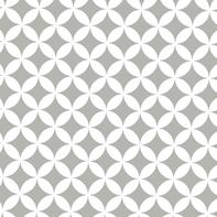 Pellicola Geometry grigio / argento 0.45x2 m