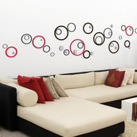 Sticker Circles 47x70 cm