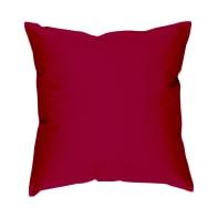 Fodera per cuscino Colorama rosso 40x40 cm
